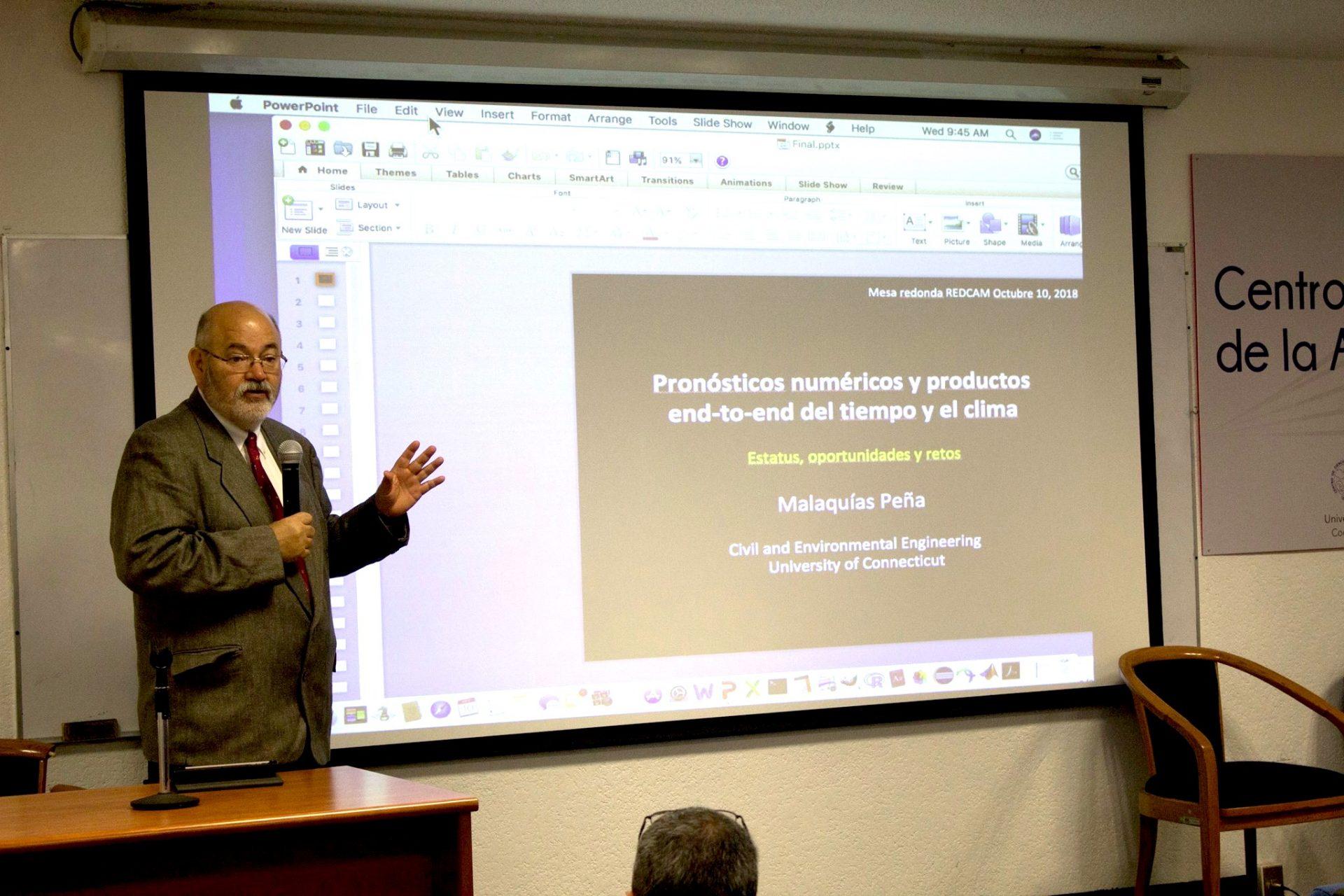 Participa investigador de la UACJ en Semana Estatal de Protección Civil