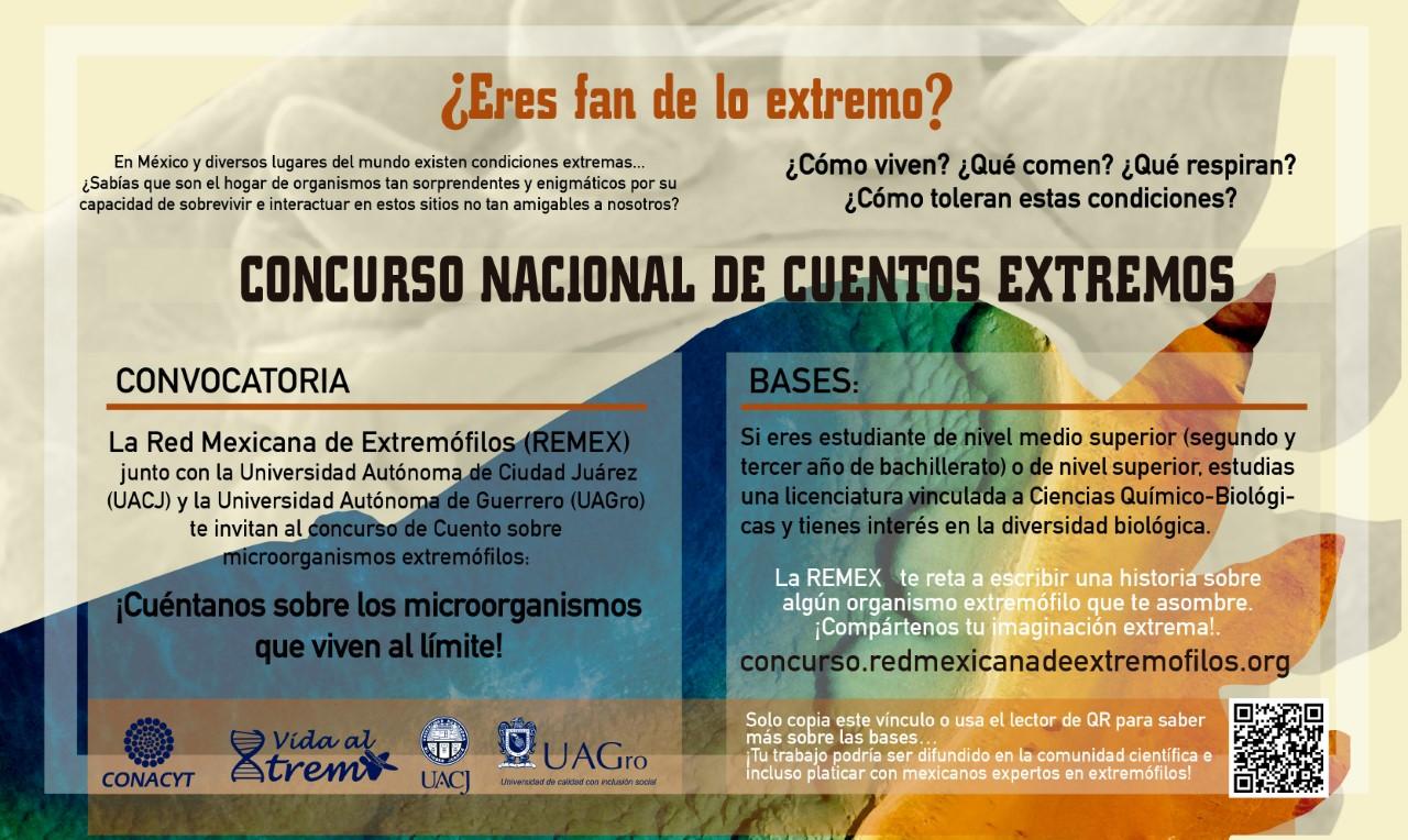 La UACJ invita al Concurso Nacional de Cuentos Extremófilos
