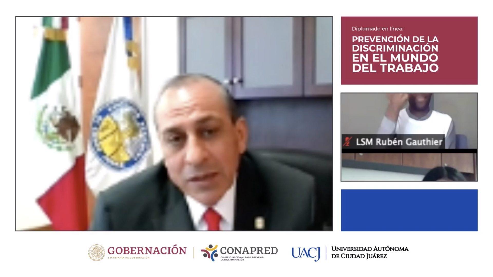 Firman convenio de colaboración UACJ-Conapred