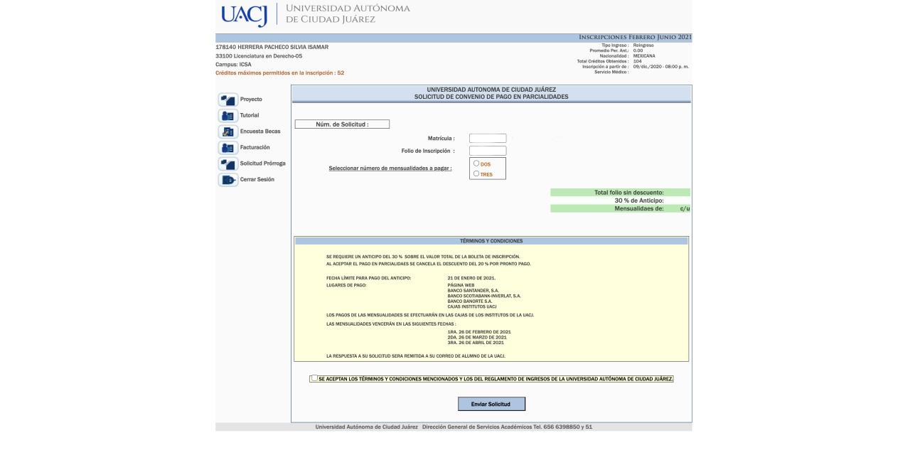 UACJ otorga prórroga para pago de inscripción