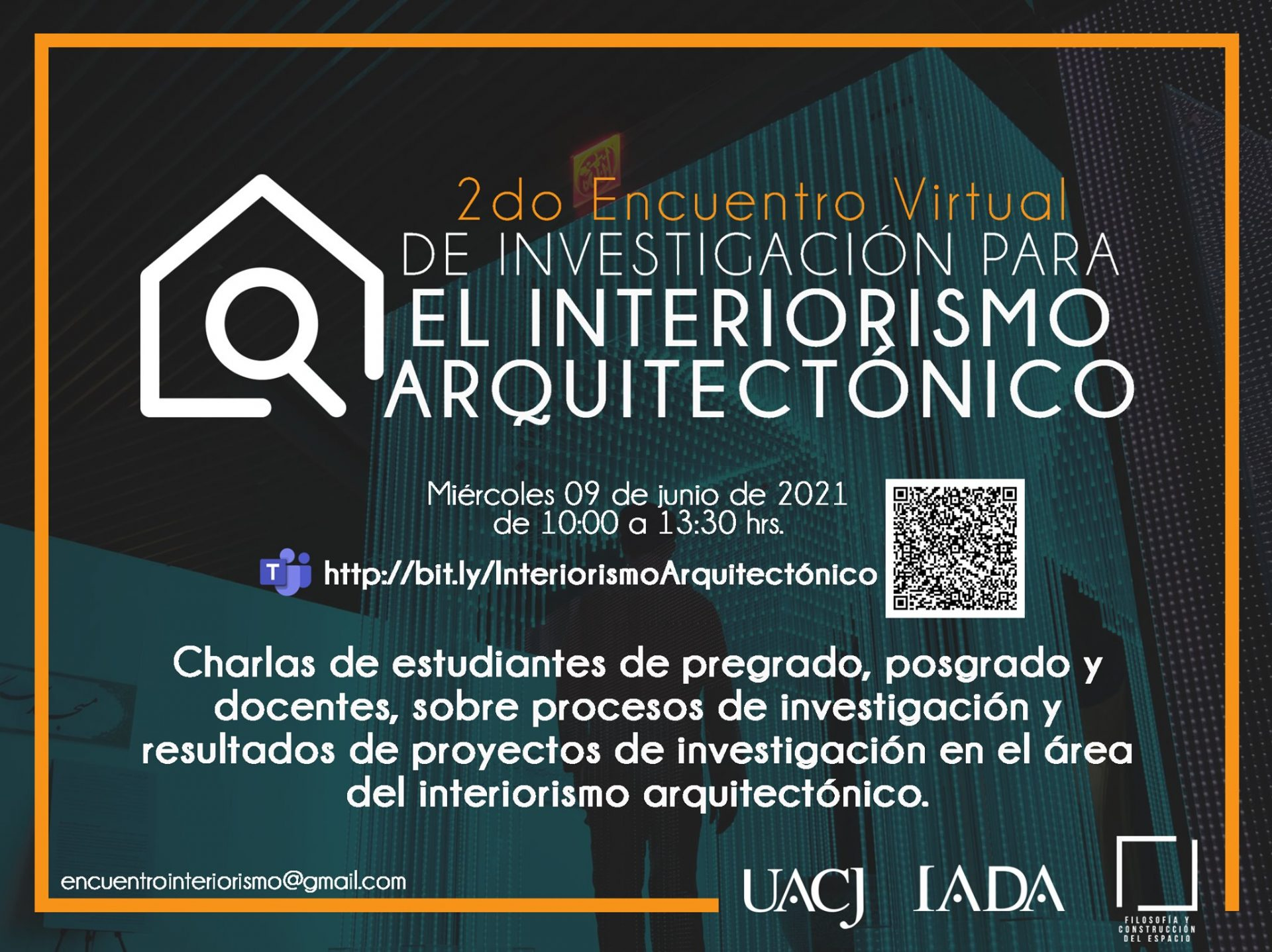 Invitan a encuentro virtual sobre interiorismo arquitectónico