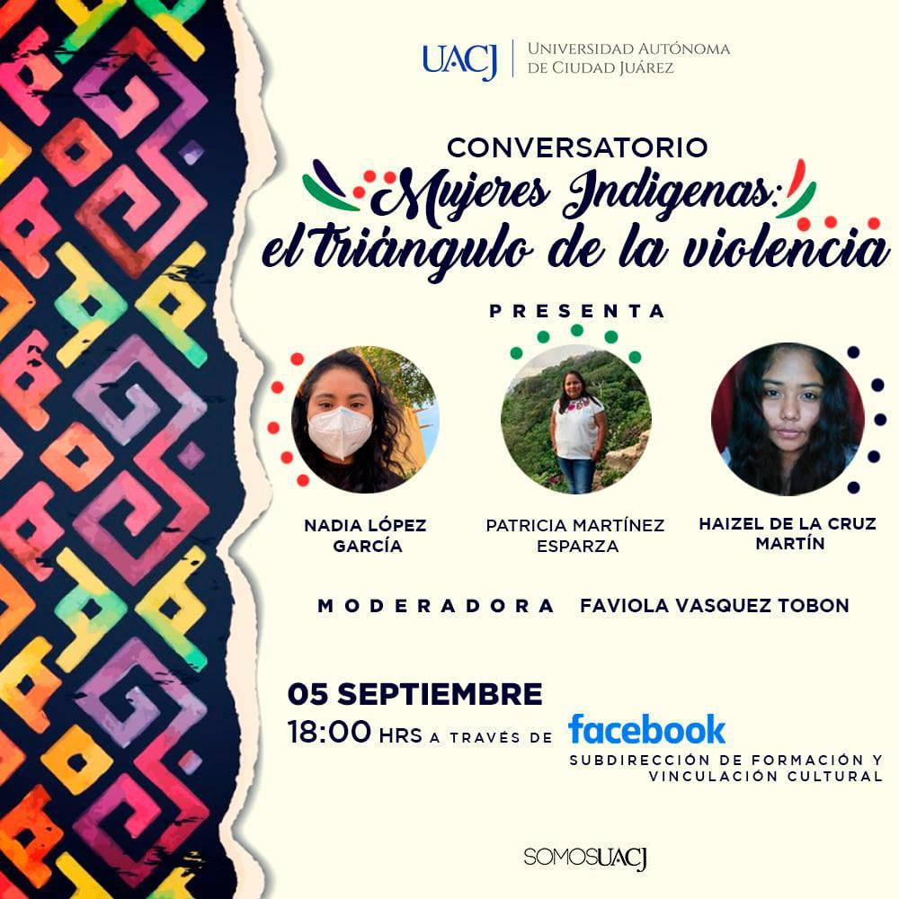 Con conversatorio, conmemorarán a las Mujeres Indígenas